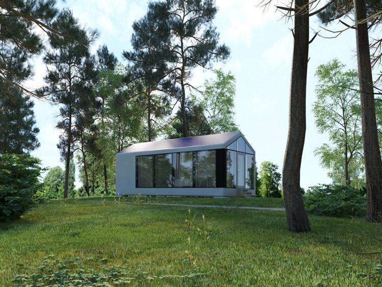 3D printed house- living in nature