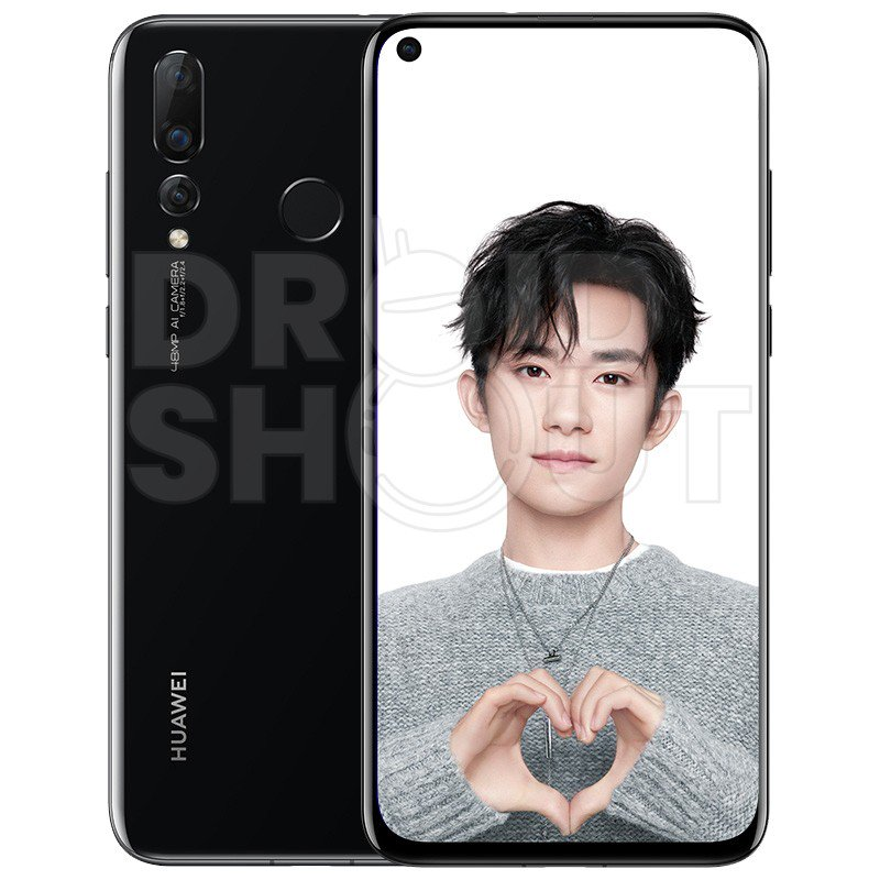 Huawei Nova 4 Press Render Black