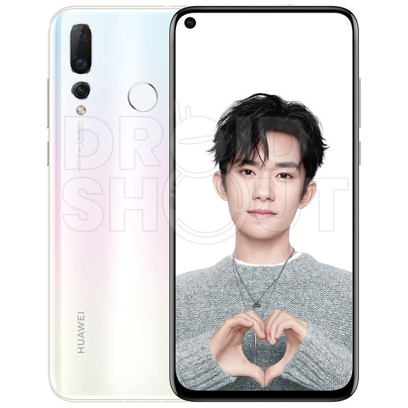 Huawei Nova 4 Press Render Lily White