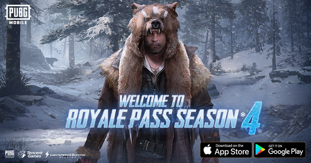 PUBG Mobile Royale Pass فصل 4