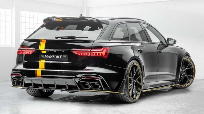 2021 Audi RS6 Avant by Mansory