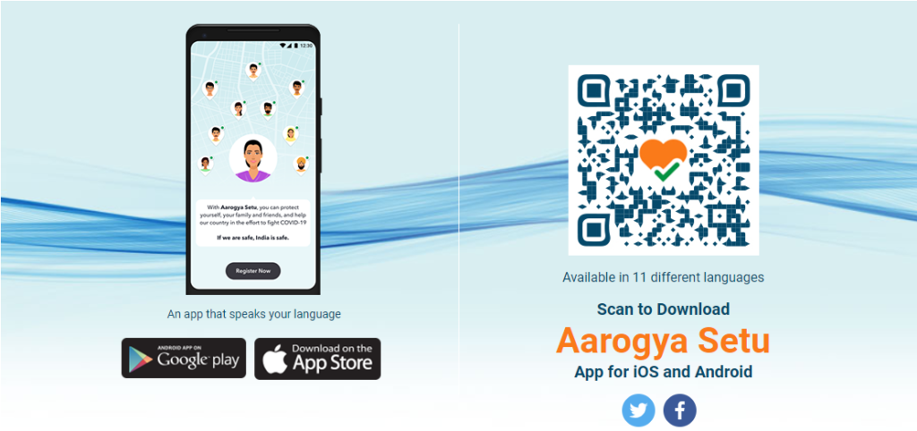 Arogya Setu Contact Tracing App India